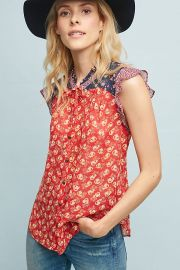 Prairie Blouse at Anthropologie