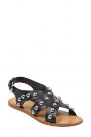 Prancer Studded Crisscross Sandal at Nordstrom Rack