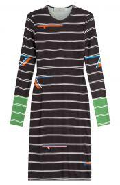 Preen Striped Jersey Dress at Stylebop
