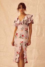 Pretty One Midi Dress by Keepsake at Keepsake