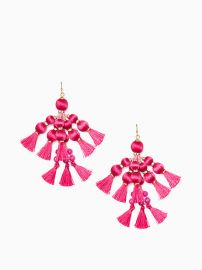 Pretty Poms Earrings at Kate Spade