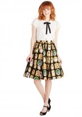 Pretty as a Purr-trait Skirt at ModCloth