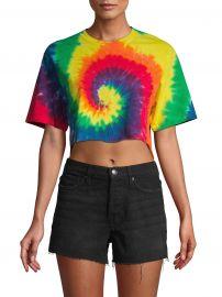 Pride Tie-Dye Crop Top at Saks Off 5th