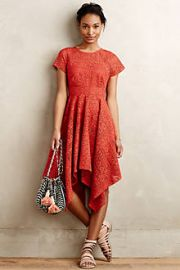 Prima Lace Dress at Anthropologie