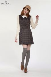 Primrose Check Dress at Miss Patina
