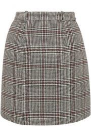 Prince of Wales Check Skirt by Carven at The Outnet