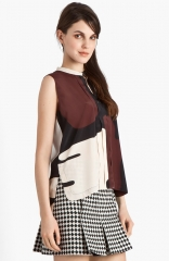 Print Crepe Blouse by Marni at Nordstrom