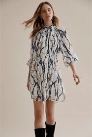 Print Gathered Mini Dress by Country Road at Country Road
