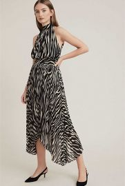 Print Pleat Dress at Witchery