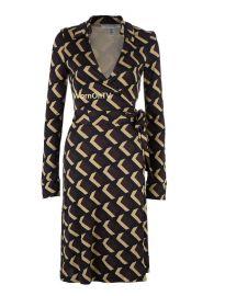 Print Wrap Dress by Diane von Furstenberg at Vestiaire Collective