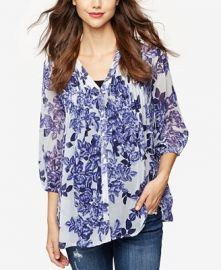 Printed Blouse at Macys