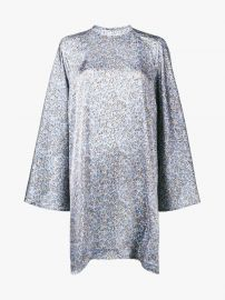 Printed Cape Dress by Acne Studios at Acne Studios