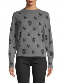 Printed Cashmere Sweater at Saks Off 5th