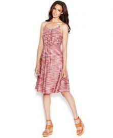 Printed Chain Strap Dress by Rachel Roy at Macys