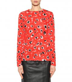 Printed Cotton Top by Proenza Schouler at My Theresa