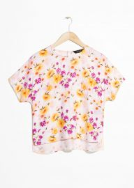 Printed Floral Blouse by & Other Stories at & Other Stories