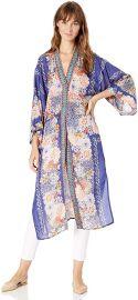 Printed Full Length Kimono at Amazon