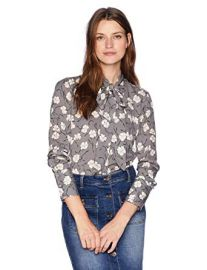 Printed Georgette Luis Blouse at Amazon