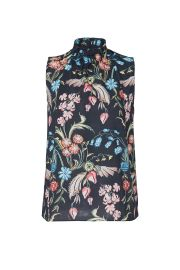 Printed High Neck Top by Peter Pilotto at Rent The Runway