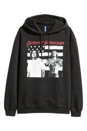 Printed Hooded Sweatshirt at H&M