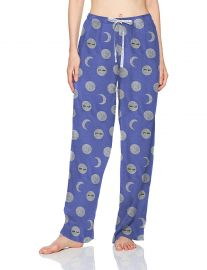Printed Knit Long Pajama Sleep Pant at Amazon