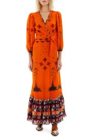 Printed Long Sleeve Dress by Jessie Western at Coltorti