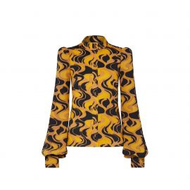 Printed Long Sleeve Top by Louis Vuitton at Louis Vuitton