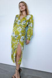 Printed Midi Dress by Zara at Zara