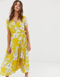 Printed Midi Dress by Zara at Asos