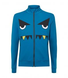 Printed Monster Face Track Jacket by Fendi at Fendi