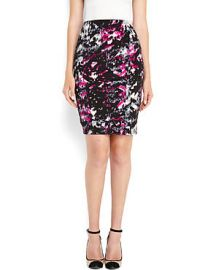 Printed Pencil Skirt by Necessary Objects at Century 21