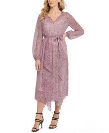 Printed Ruffled Dress at Macys