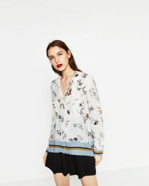 Printed Shirt at Zara