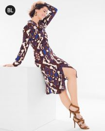 Printed Shirt Dress by Chicos at Chicos