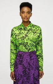 Printed Silk Blouse by Escada at Escada