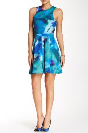 Printed Sleeveless Dress at Nordstrom Rack