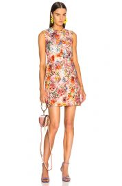 Printed Sleeveless Mini Dress at Forward