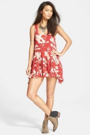 Printed Trapeze Slip Dress at Nordstrom Rack