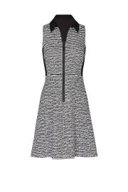 Printed Zip Up Polo Dress by Nanette Lepore at Rent The Runway