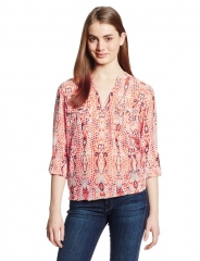 Printed blouse by Two by Vince Camuto at Amazon