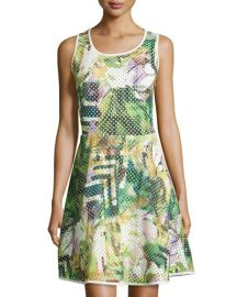 Printed dress by 5Twelve at Last Call