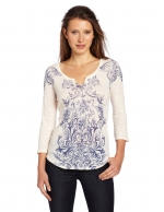 Printed tee like Maggies by Lucky Brand at Amazon