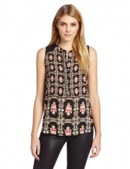 Printed top by Eight Sixty at Amazon
