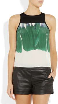 Printed top by Tibi at Net A Porter