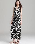 Prism Geo print maxi dress by Aqua at Bloomingdales