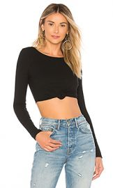 Privacy Please Cassie Crop Top in Black from Revolve com at Revolve