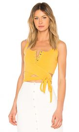 Privacy Please Orion Tank in Marigold from Revolve com at Revolve
