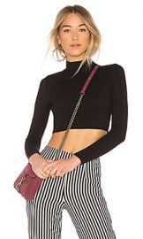 Privacy Please Perks Crop Top in Black from Revolve com at Revolve