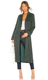 Privacy Please Tessa Trench Coat in Forest Green from Revolve com at Revolve