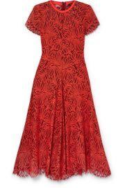 Proenza Schouler - Lace midi dress at Net A Porter